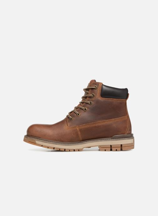 Bottines et boots Dockers Seb Marron vue face