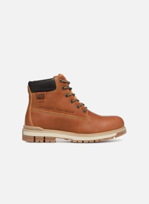 Bottines et boots Dockers Seb Marron vue derrière