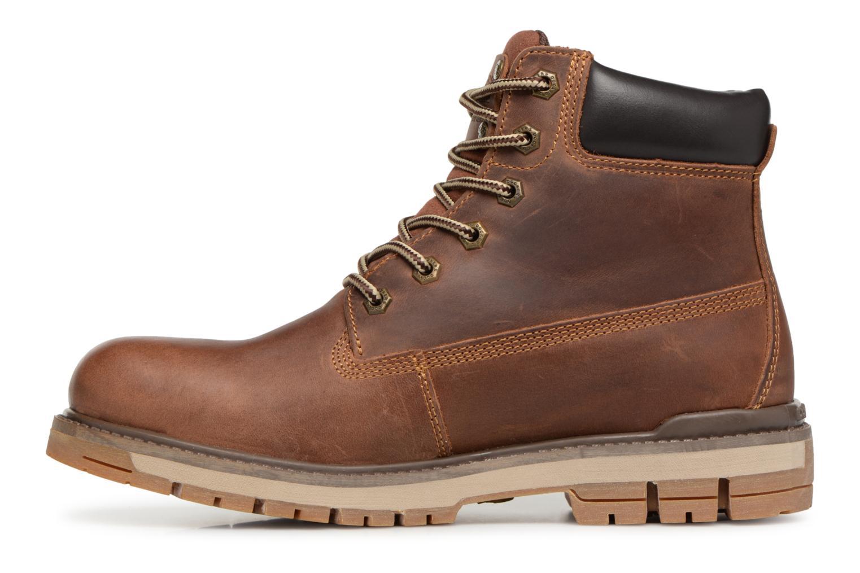 Bottines et boots Dockers Seb Marron vue face
