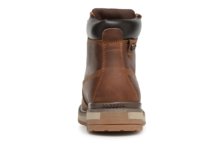 Bottines et boots Dockers Seb Marron vue droite