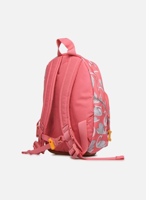Skoletasker Stones and Bones LAUREL Pink Se fra højre