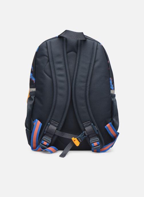 School bags Stones and Bones LINDEN Blue front view