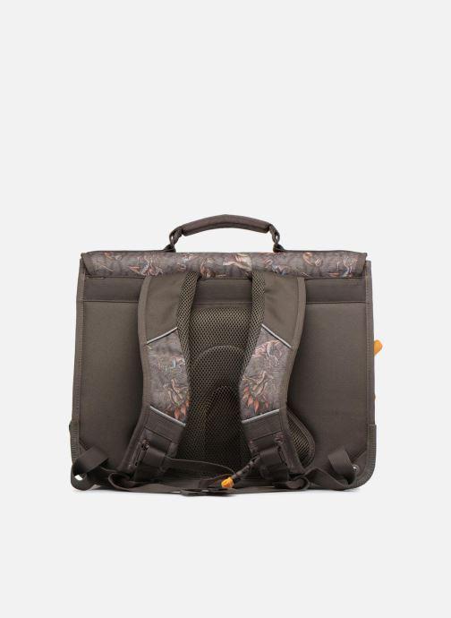 School bags Stones and Bones CEDAR 40,5cm Brown front view