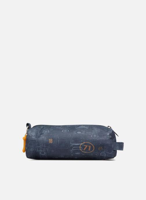 School bags Stones and Bones OREGON Blue front view