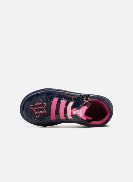 Trainers Agatha Ruiz de la Prada Walk stars Blue view from the left