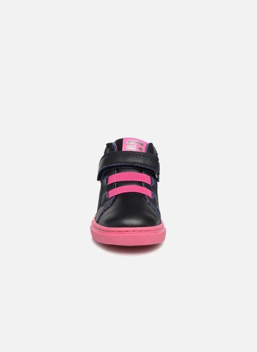 Baskets Agatha Ruiz de la Prada Walk music Noir vue portées chaussures