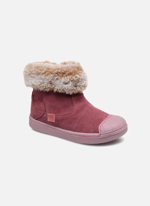 Ankle boots Agatha Ruiz de la Prada Supreme Pink detailed view/ Pair view