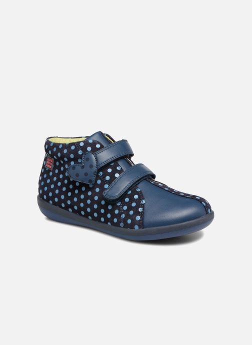 Baskets Agatha Ruiz de la Prada Butterfly S dots Bleu vue détail/paire