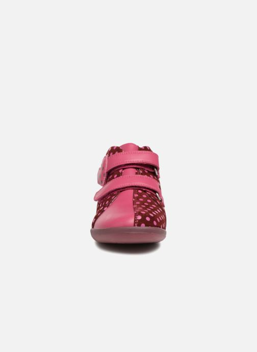 Trainers Agatha Ruiz de la Prada Butterfly S dots Pink model view