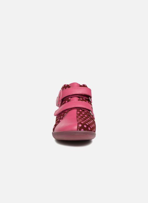 Baskets Agatha Ruiz de la Prada Butterfly S dots Rose vue portées chaussures