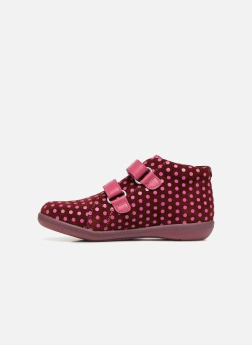 Baskets Agatha Ruiz de la Prada Butterfly S dots Rose vue face