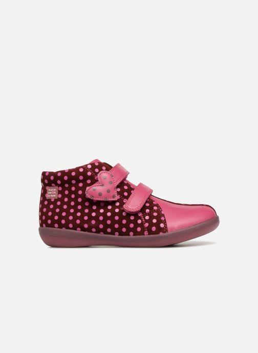 Baskets Agatha Ruiz de la Prada Butterfly S dots Rose vue derrière