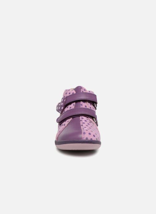 Baskets Agatha Ruiz de la Prada Butterfly S dots Violet vue portées chaussures