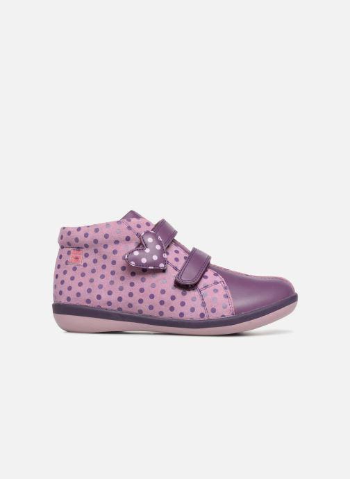 Baskets Agatha Ruiz de la Prada Butterfly S dots Violet vue derrière