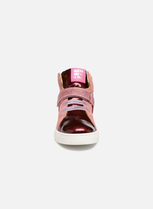 Sneaker Agatha Ruiz de la Prada House rosa schuhe getragen
