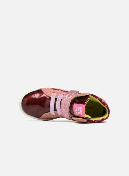 Sneaker Agatha Ruiz de la Prada House rosa ansicht von links