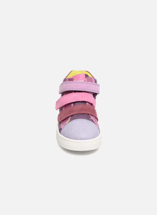 Baskets Agatha Ruiz de la Prada House 2 Violet vue portées chaussures