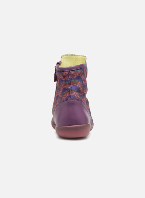 Boots en enkellaarsjes Agatha Ruiz de la Prada Butterfly B rainbow Paars rechts