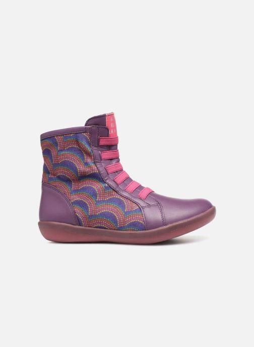 Boots en enkellaarsjes Agatha Ruiz de la Prada Butterfly B rainbow Paars achterkant
