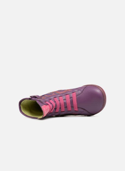 Boots en enkellaarsjes Agatha Ruiz de la Prada Butterfly B rainbow Paars links