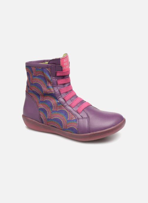 Bottines et boots Agatha Ruiz de la Prada Butterfly B rainbow Violet vue détail/paire