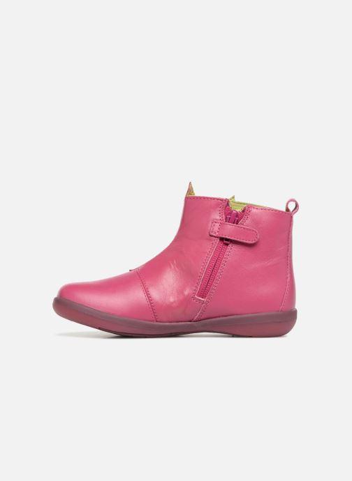 Ankle boots Agatha Ruiz de la Prada Butterfly B star Pink front view