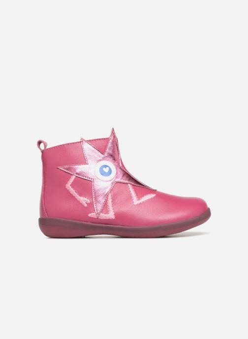 Ankle boots Agatha Ruiz de la Prada Butterfly B star Pink back view