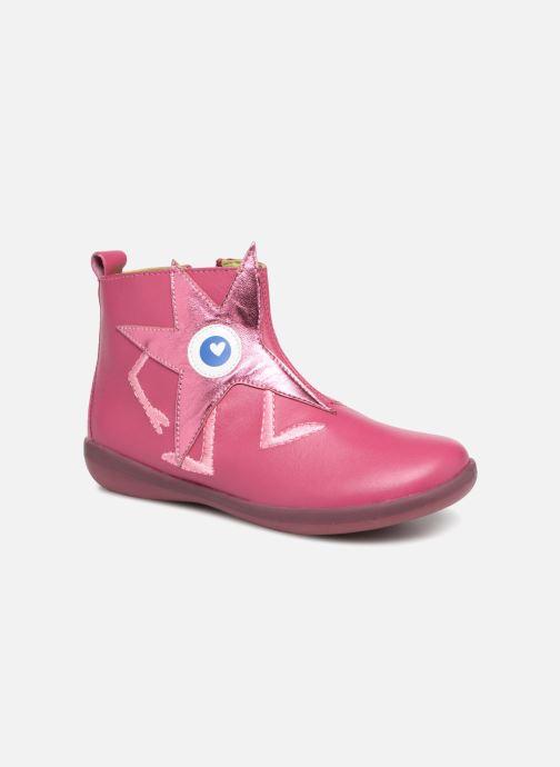 Ankle boots Agatha Ruiz de la Prada Butterfly B star Pink detailed view/ Pair view