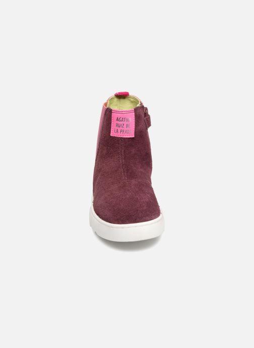 Bottines et boots Agatha Ruiz de la Prada House 3 Rose vue portées chaussures
