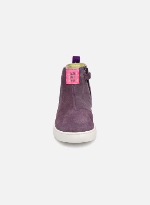 Bottines et boots Agatha Ruiz de la Prada House 3 Violet vue portées chaussures