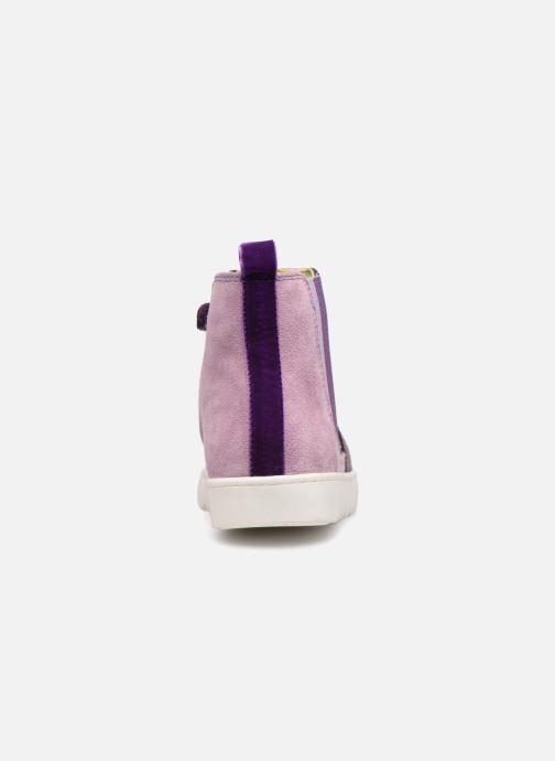 Bottines et boots Agatha Ruiz de la Prada House 3 Violet vue droite