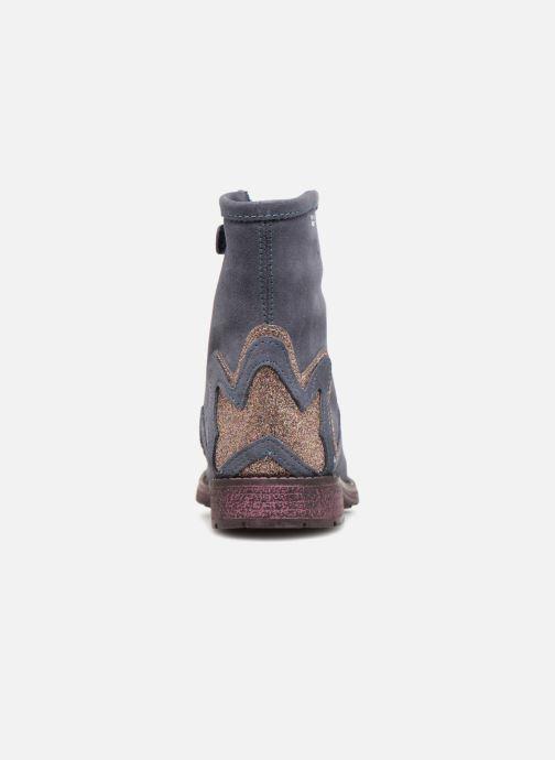 Stiefeletten & Boots Agatha Ruiz de la Prada Vagabunda 3 blau ansicht von rechts