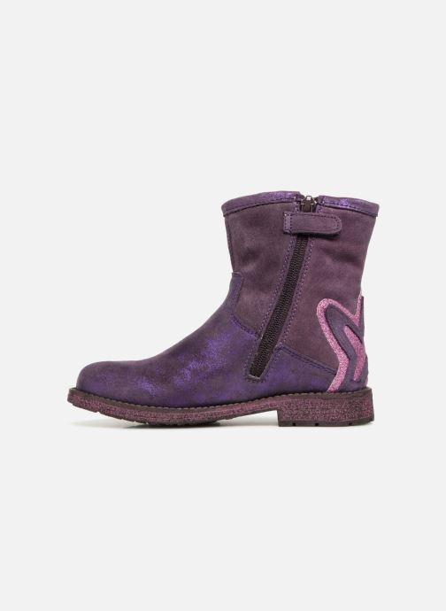 Ankle boots Agatha Ruiz de la Prada Vagabunda 3 Purple front view
