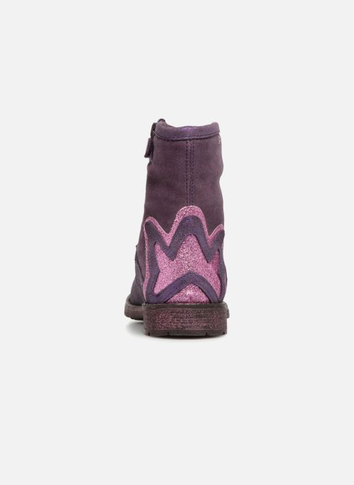 Ankle boots Agatha Ruiz de la Prada Vagabunda 3 Purple view from the right