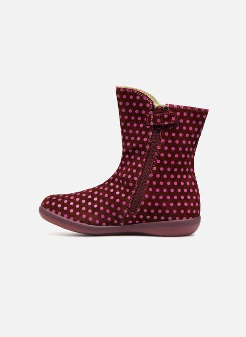 Støvler & gummistøvler Agatha Ruiz de la Prada Butterfly B dots Pink se forfra