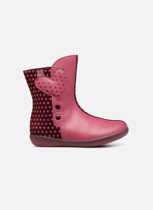 Støvler & gummistøvler Agatha Ruiz de la Prada Butterfly B dots Pink se bagfra
