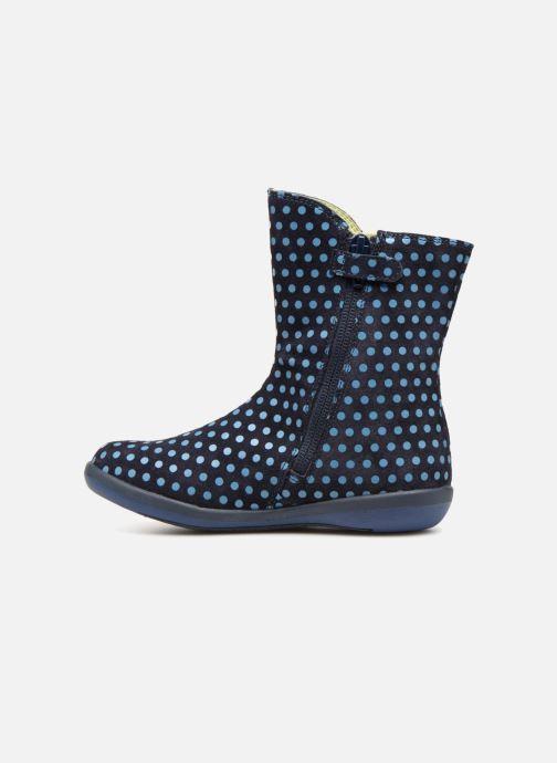 Stiefel Agatha Ruiz de la Prada Butterfly B dots blau ansicht von vorne