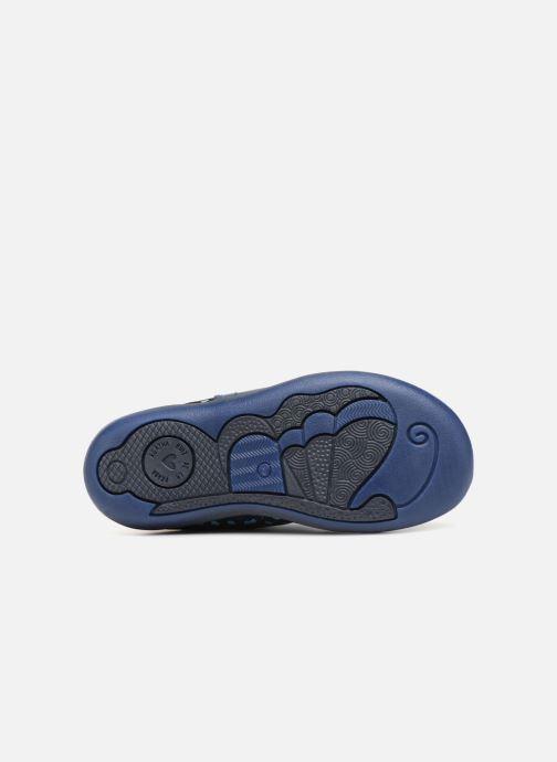 Stiefel Agatha Ruiz de la Prada Butterfly B dots blau ansicht von oben