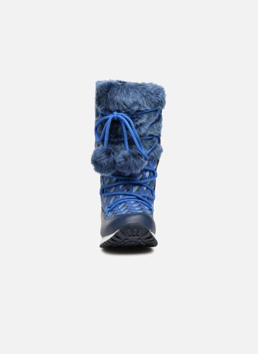 Zapatillas de deporte Agatha Ruiz de la Prada Après-Ski Agatha 3 Azul vista del modelo