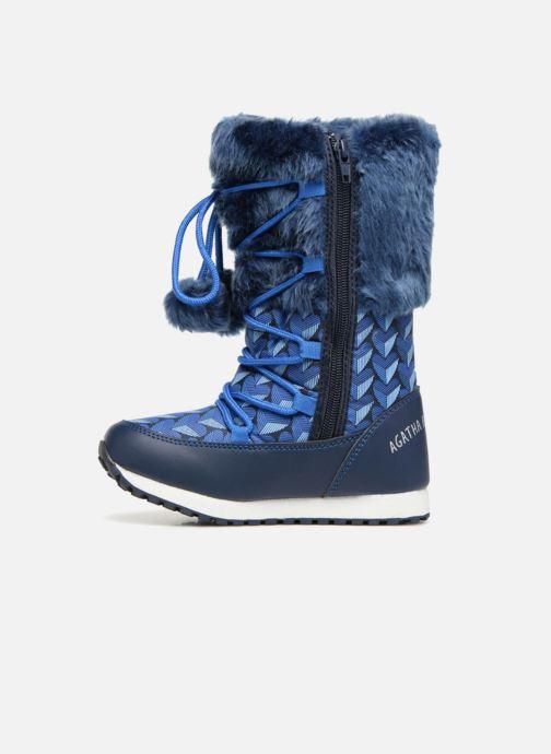 Chaussures de sport Agatha Ruiz de la Prada Après-Ski Agatha 3 Bleu vue face