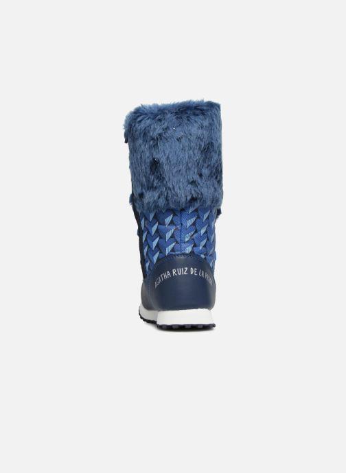 Zapatillas de deporte Agatha Ruiz de la Prada Après-Ski Agatha 3 Azul vista lateral derecha