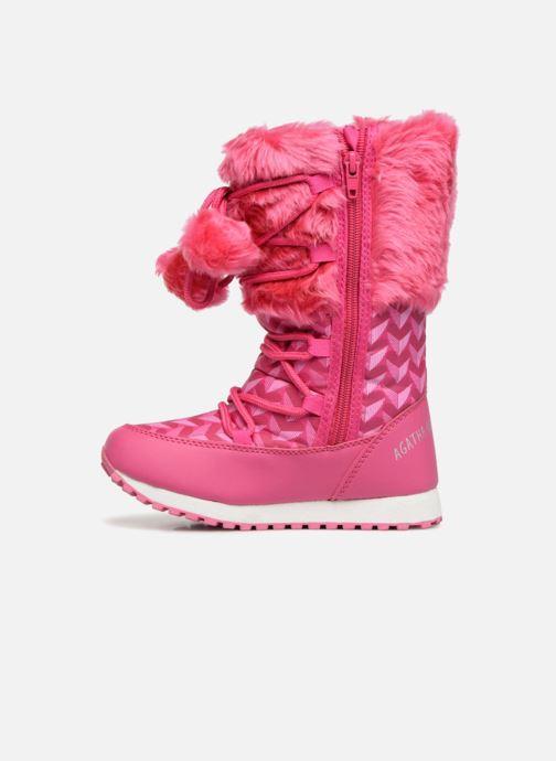 Sport shoes Agatha Ruiz de la Prada Après-Ski Agatha 3 Pink front view