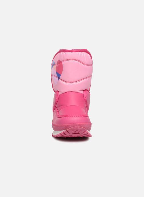 Scarpe sportive Agatha Ruiz de la Prada Apreski2 Rosa modello indossato