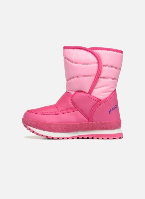 Zapatillas de deporte Agatha Ruiz de la Prada Apreski2 Rosa vista de frente