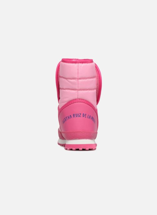 Zapatillas de deporte Agatha Ruiz de la Prada Apreski2 Rosa vista lateral derecha
