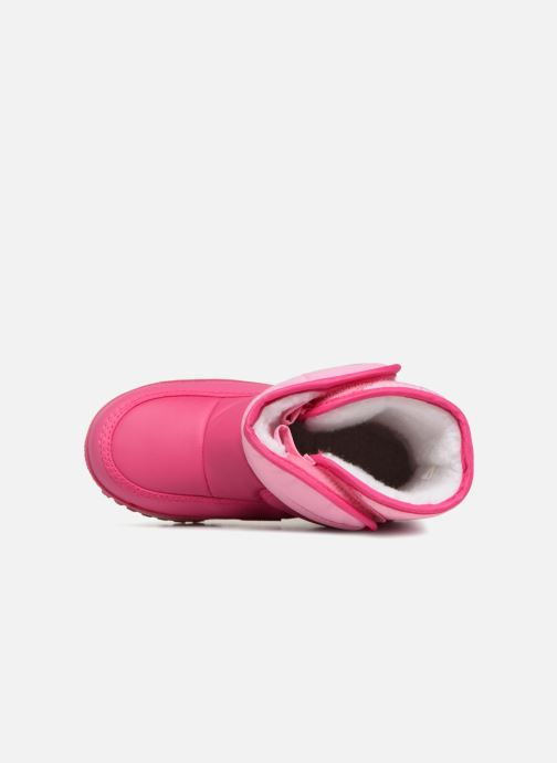 Zapatillas de deporte Agatha Ruiz de la Prada Apreski2 Rosa vista lateral izquierda