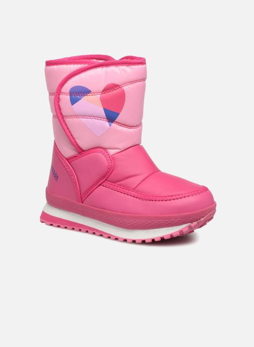 Sport shoes Agatha Ruiz de la Prada Apreski2 Pink detailed view/ Pair view