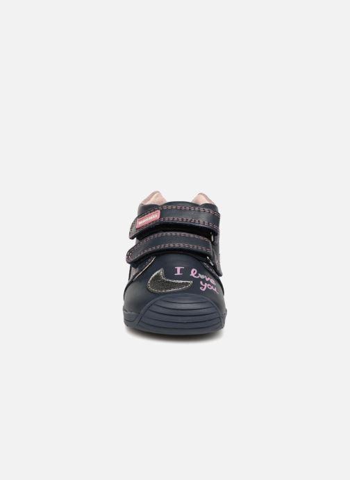 Bottines et boots Biomecanics Luna Bleu vue portées chaussures