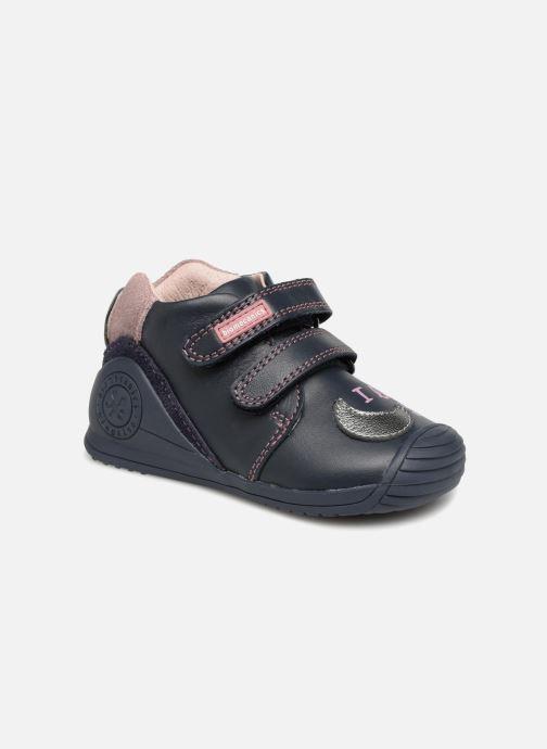 Bottines et boots Biomecanics Luna Bleu vue détail/paire