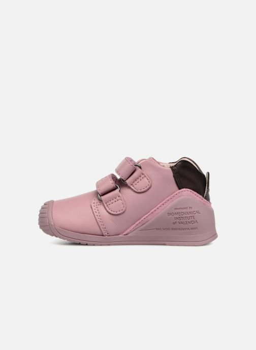 Ankle boots Biomecanics Fiorella Pink front view